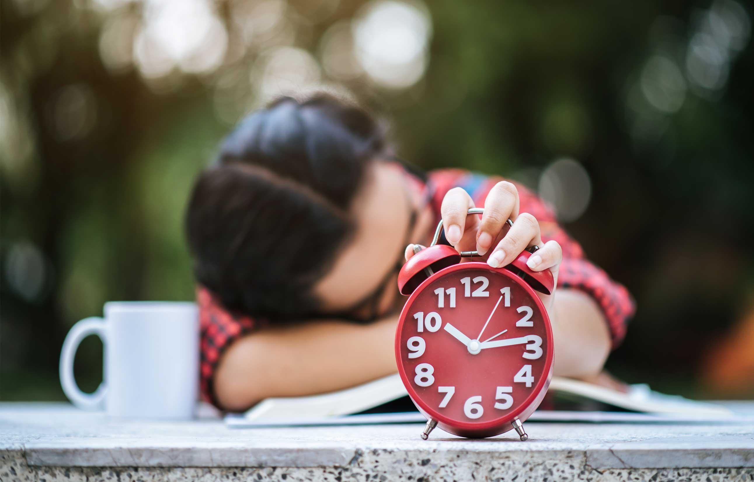 Estrés y vida acelerada