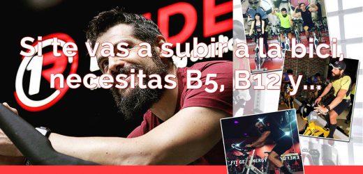 Si vas a practicar ciclismo, necesitas vitamina B5 y B12